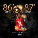 '86-'87 (Hosted By Que) mixtape cover art
