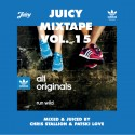 Juicy Mixtape 15 mixtape cover art