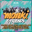 Monki & Friends - EP 2 mixtape cover art