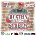 Savage - Hustlin In Da Streetz mixtape cover art