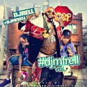 #DJMFRELL v2 mixtape cover art
