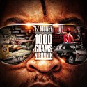 EZ Money - 1000 Grams N Runnin' mixtape cover art