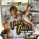 Hardo & Deezlee - Fame Or Feds (Rap Or Bricks) mixtape cover art