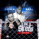 Foxx & Lil Mal - For The Streets mixtape cover art