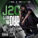 J20 - 5 For The Dub mixtape cover art