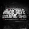 Lil Jitt - Brick Boyz mixtape cover art