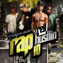 Rap Hustlin 10 mixtape cover art