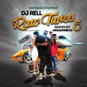 Raw Tunes 5 mixtape cover art