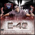 E-40: Hyphy Mixtape Movement mixtape cover art