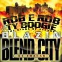 Blazin' Blend City mixtape cover art
