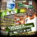 D Black - Virginia's Competition mixtape cover art