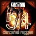Dancehall Reggae 54 mixtape cover art