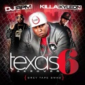 Texas Takeover 6 (Hosted By Killa Kyleon) mixtape cover art