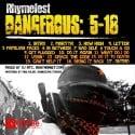 Rhymefest - Dangerous: 5-18 mixtape cover art