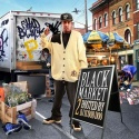 Shad Black - Black Market mixtape cover art