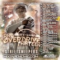 R&B Overdrive 13 mixtape cover art