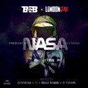 B.o.B & London Jae - NASA mixtape cover art