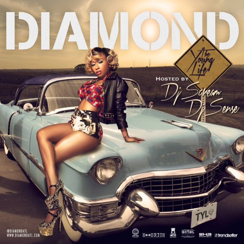 RAP | Diamond feat. Juicy J, Jackie Chain & Daft Punk - At The Bar