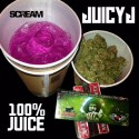 Juicy J - 100% Juice mixtape cover art