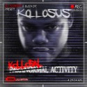 Kollosus - Kollosal Activity mixtape cover art