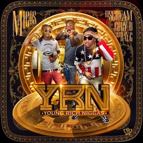 Migos - Young Rich NiggasRich Gang Album Art