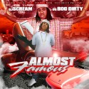 OG Boo Dirty - Almost Famous mixtape cover art