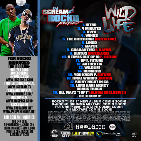 Rocko - Wild Life back cover
