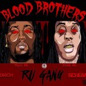 Ru Gang - Blood Brothers mixtape cover art