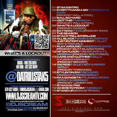 mixtape back cover