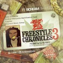 Young Breed - Freestyle Chronicles 3 mixtape cover art