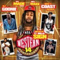 The Western Conference 14 (Hosted By Ty Dolla $ign) mixtape cover art