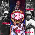 The Western Conference 19 mixtape cover art