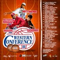 The Western Conference 3 mixtape cover art