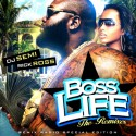 Rick Ross - Boss Life (The Remixes) mixtape cover art