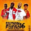 Southern Fuego 16  mixtape cover art