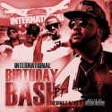 International B-Day Bash mixtape cover art