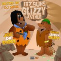 Chedda Gotta Glizzy & Joc Da Block - Itz Guns On Glizzy Avenue mixtape cover art
