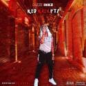 Dizze Inkz - Red Rain Pt. 1 mixtape cover art