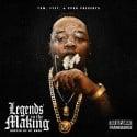 DJKP Aka FrankBandz - Legends In The Making mixtape cover art