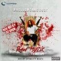 HollowGang DBoy - Raw Muzik mixtape cover art