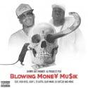 Jimmy Get Money & Project Pat - Blowing Money Mu$ik mixtape cover art