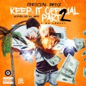 Official Redz - Keep It Official Part 2 mixtape cover art