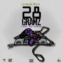 Uncle Sam - 28 Gramz mixtape cover art