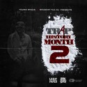 Young Shank - Trap History Month 2 mixtape cover art