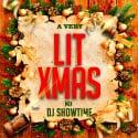 A Very Lit Christmas mixtape cover art