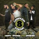 Campaign Strong 8 (Hosted By 3 Problems)  mixtape cover art