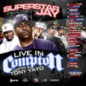 Live In Compton (Hosted By Tony Yayo) mixtape cover art