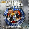 Bishop Lamont & Indef - Team America mixtape cover art