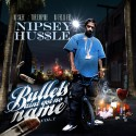 Nipsey Hussle - Bullets Ain't Got No Name mixtape cover art