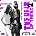Chase N. Cashe - The Hier Up There 2 (Chopped Not Slopped) mixtape cover art